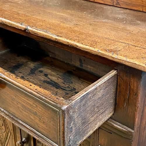 20th Century Oak Dwarf Dresser image-2