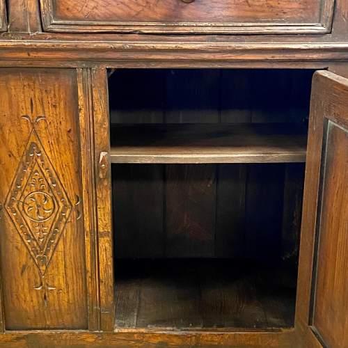 20th Century Oak Dwarf Dresser image-3