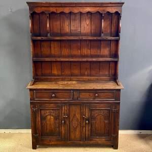 20th Century Oak Dwarf Dresser