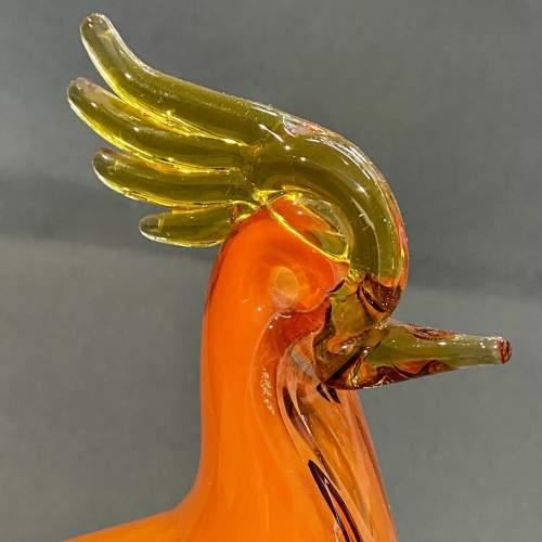 Large Murano Glass Bird image-2