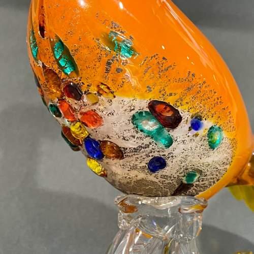 Large Murano Glass Bird image-3