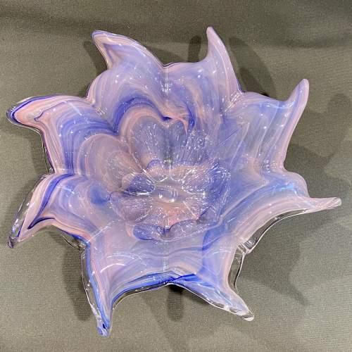 Unusual Glass Studio Bowl image-4