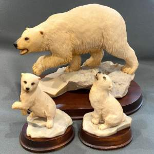 Aynsley Polar Bear and Cubs