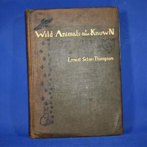 Book of Wild Animals I Have Known