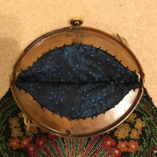 1920s Egyptian Revival Beadwork Bag image-5