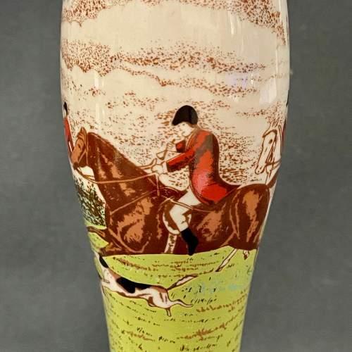 Set of Four Wade Ceramic Hunting Scene Beer Pump Taps image-3