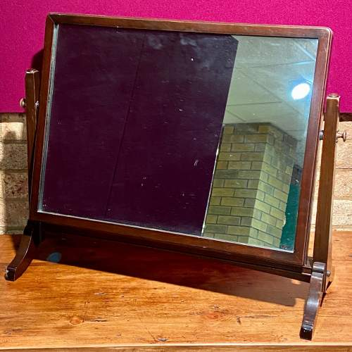 Large Victorian Dressing Table Mirror image-1