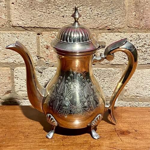 Vintage Four Piece Silver Plated Tea Service image-3