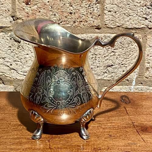Vintage Four Piece Silver Plated Tea Service image-4
