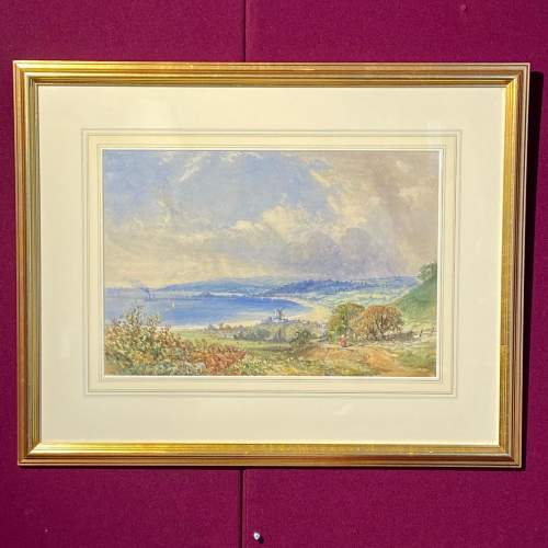 Late 19th Century Watercolour Painting By Mary Weatherill image-1