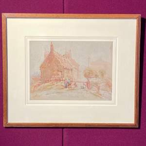 20th Century Watercolour Painting By Cuthbert Crossley