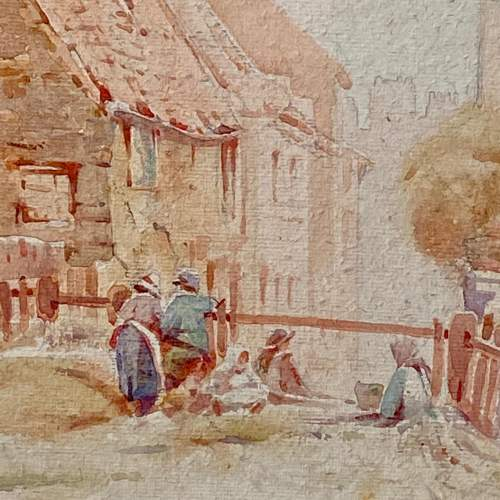 20th Century Watercolour Painting By Cuthbert Crossley image-2