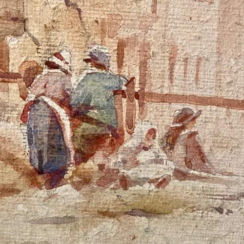 20th Century Watercolour Painting By Cuthbert Crossley image-3