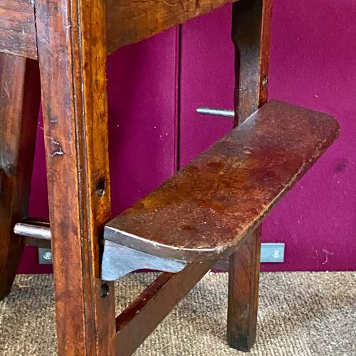 A Regency Period Chippendale Style High Chair image-5