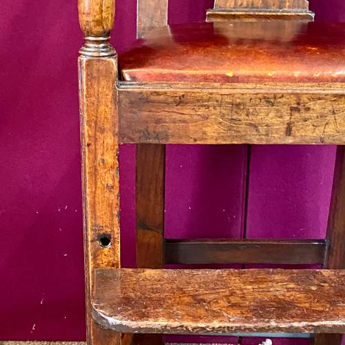 A Regency Period Chippendale Style High Chair image-6