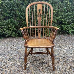 Victorian High Back Country Windsor Chair