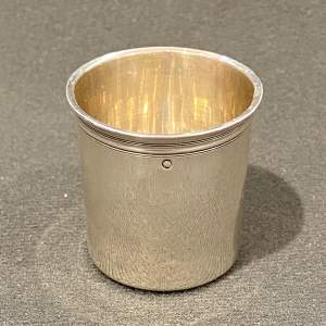 Rare French Silver Shot Glass