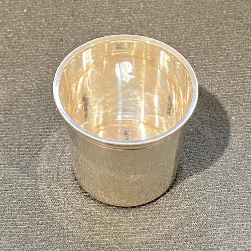 Rare French Silver Shot Glass image-2