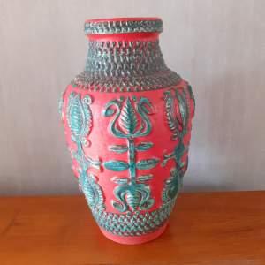 West German Vase Designed by Bodo Mans