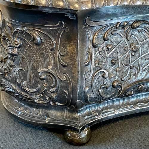 Art Nouveau WMF Silver Plate Jewellery Casket image-3
