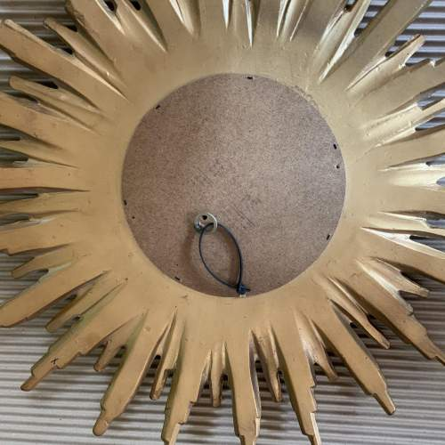 Superb French Belgian Sunburst Mirror with Multiple Bursts image-6