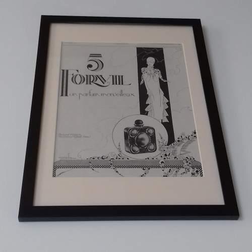 Framed Original 1926 Advert For 5 Forvil Perfume image-1