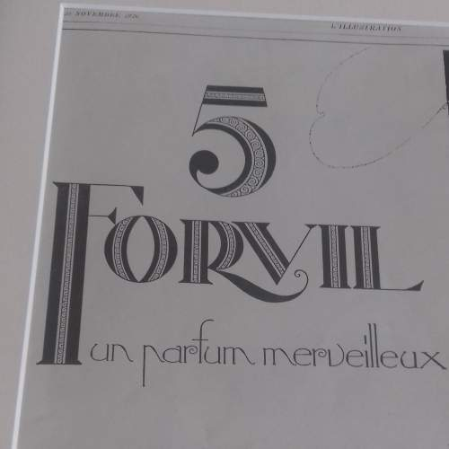 Framed Original 1926 Advert For 5 Forvil Perfume image-4