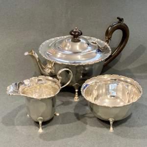 20th Century Silver Tea Set
