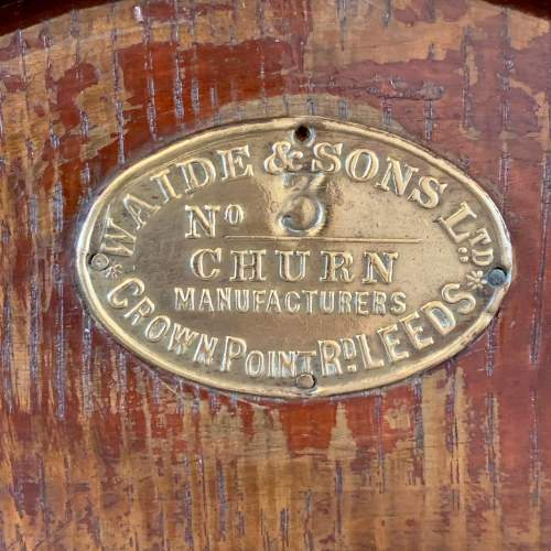 Early 20th Century Waide and Sons Table Top Butter Churn image-2