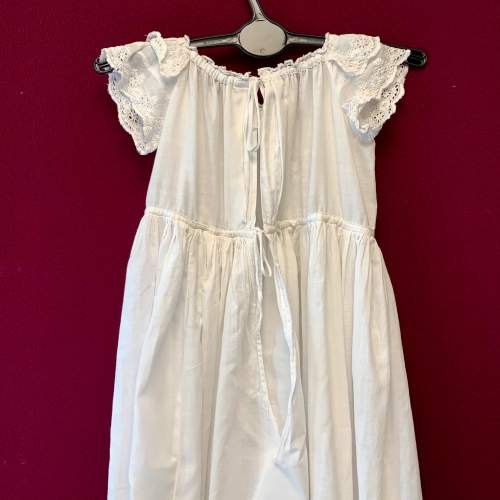 Circa 1900 Broderie Anglaise Christening Gown image-4