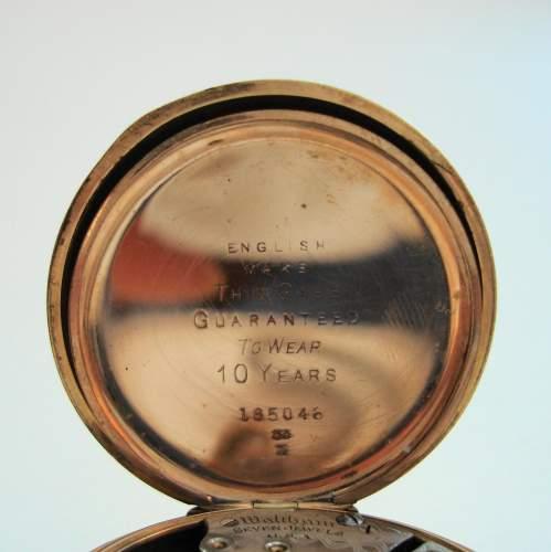Waltham Open Face Pocket Watch image-4