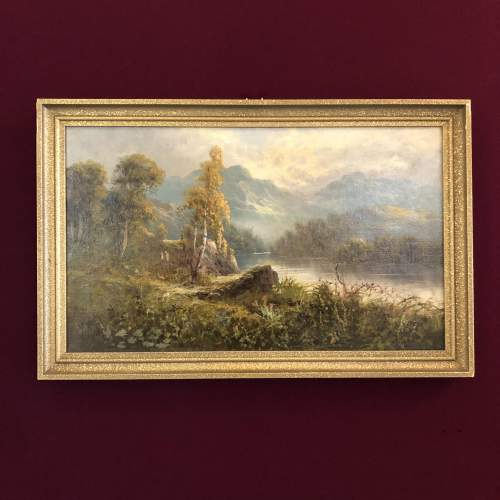 Lake Windermere Oil Painting image-1