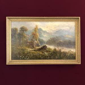 Lake Windermere Oil Painting