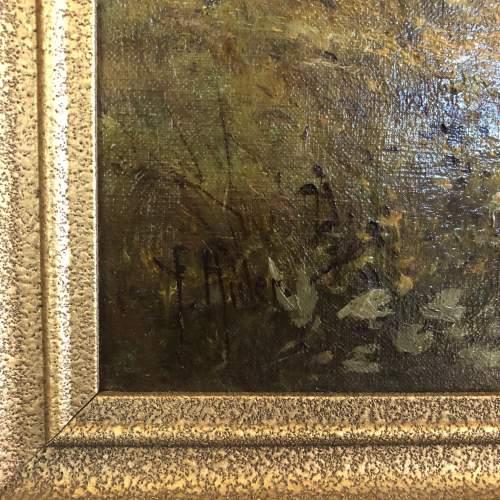 Lake Windermere Oil Painting image-4