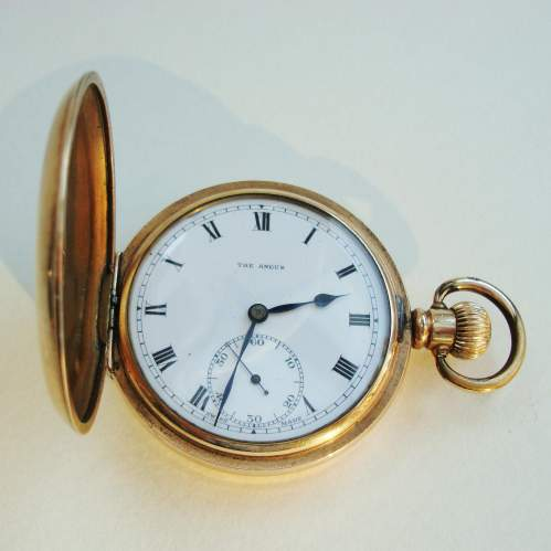A Hunter Pocket Watch with Swiss Movement image-1