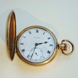 A Hunter Pocket Watch with Swiss Movement