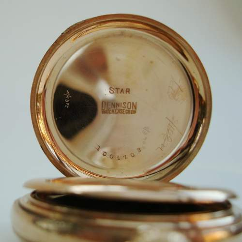 A Hunter Pocket Watch with Swiss Movement image-4