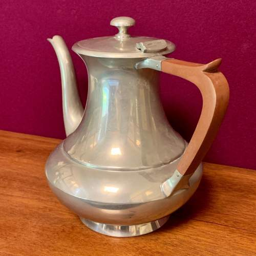 19th Century James Dixon and Son Pewter Teapot image-3