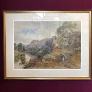 Betws Y Coed Church Painting