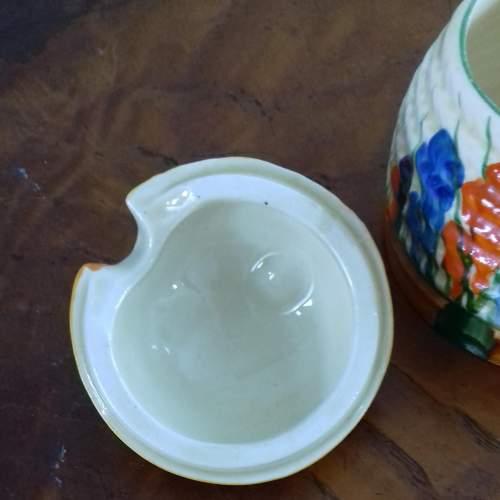Clarice Cliff Bizarre Autumn Crocus Honey Pot image-5