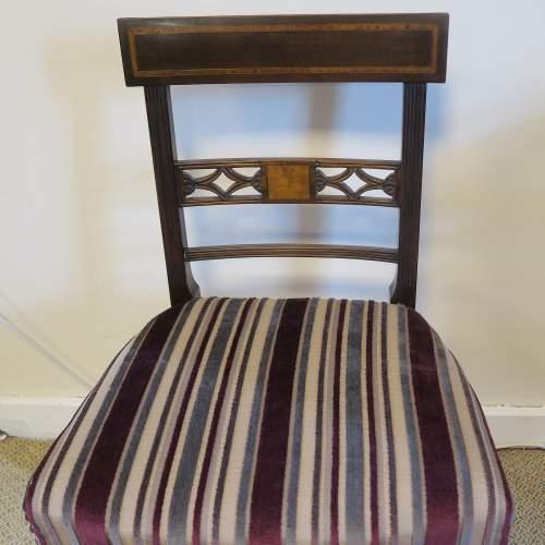 Regency Period  Mahogany Side Chair image-4
