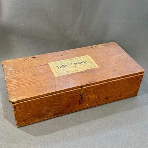 Vintage Table Croquet Set image-2