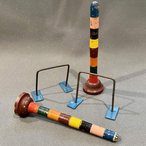 Vintage Table Croquet Set image-5