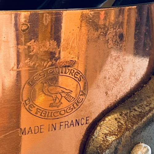 Set of Five Vintage Copper Pans image-4
