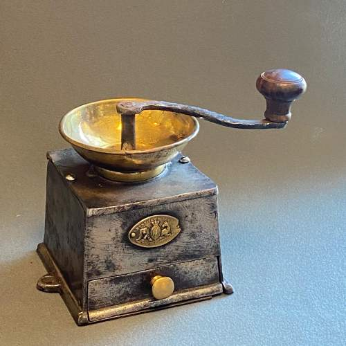 Victorian Cast Iron Coffee Grinder image-1