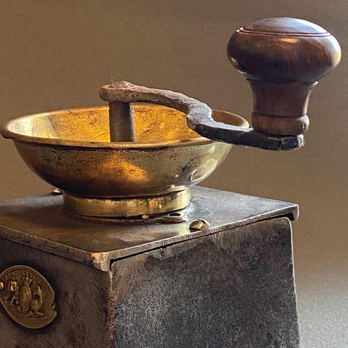 Victorian Cast Iron Coffee Grinder image-3