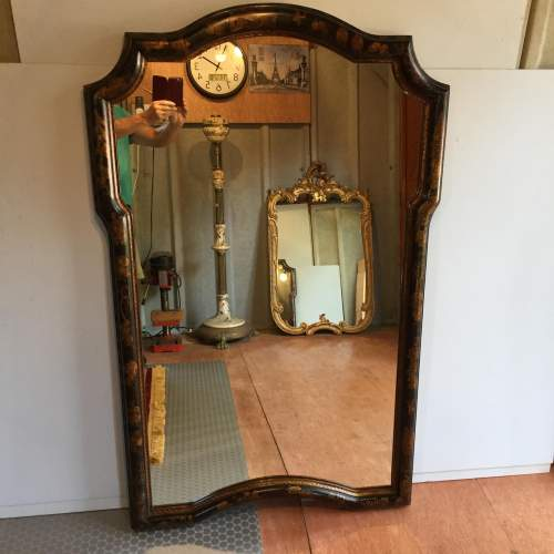 Large Chinoiserie Style Framed Mirror By William Switzer image-1