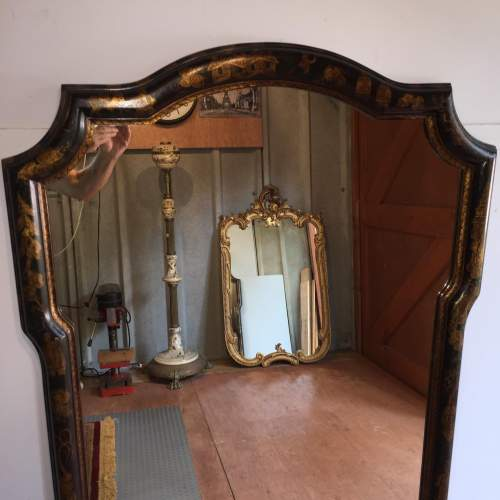 Large Chinoiserie Style Framed Mirror By William Switzer image-2