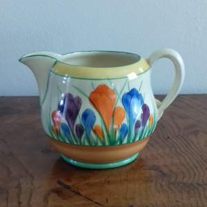 Clarice Cliff Autumn Crocus Milk Jug