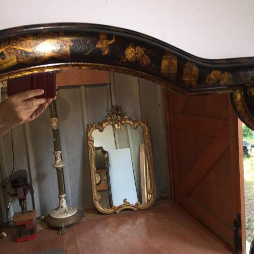 Large Chinoiserie Style Framed Mirror By William Switzer image-3